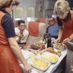 Service in der Boeing 747-257