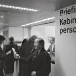 Briefing der Cabin Crew der Swissair im Flughafen Zürich-Kloten