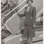 Hostess am Flugplatz Dübendorf